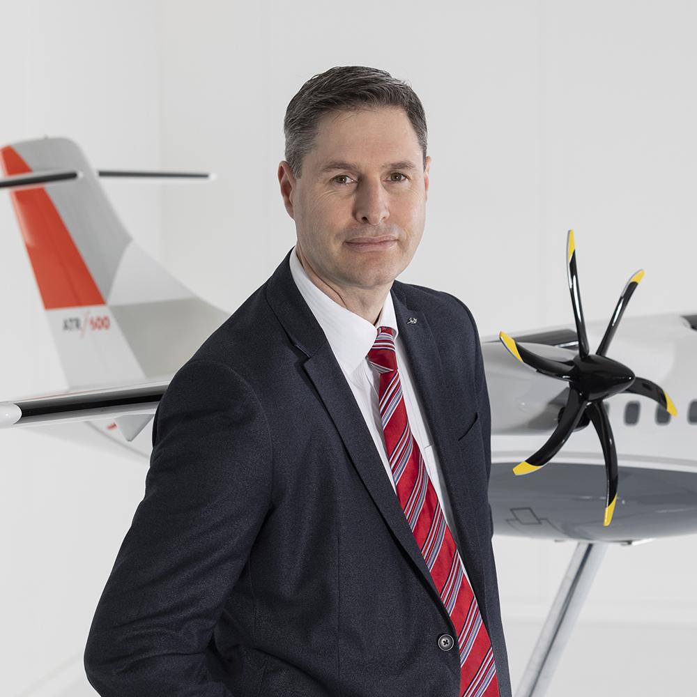 Christopher Mc Gregor - ATR's Flight Safety Officer